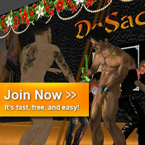 Free gay sex games are ready in the Red light center